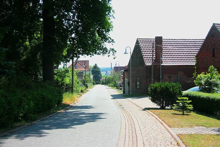 Straße in Assau